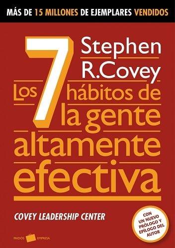 Los siete hábitos de la gente altamente efectiva, Libro de Productividad de Stephen Covey