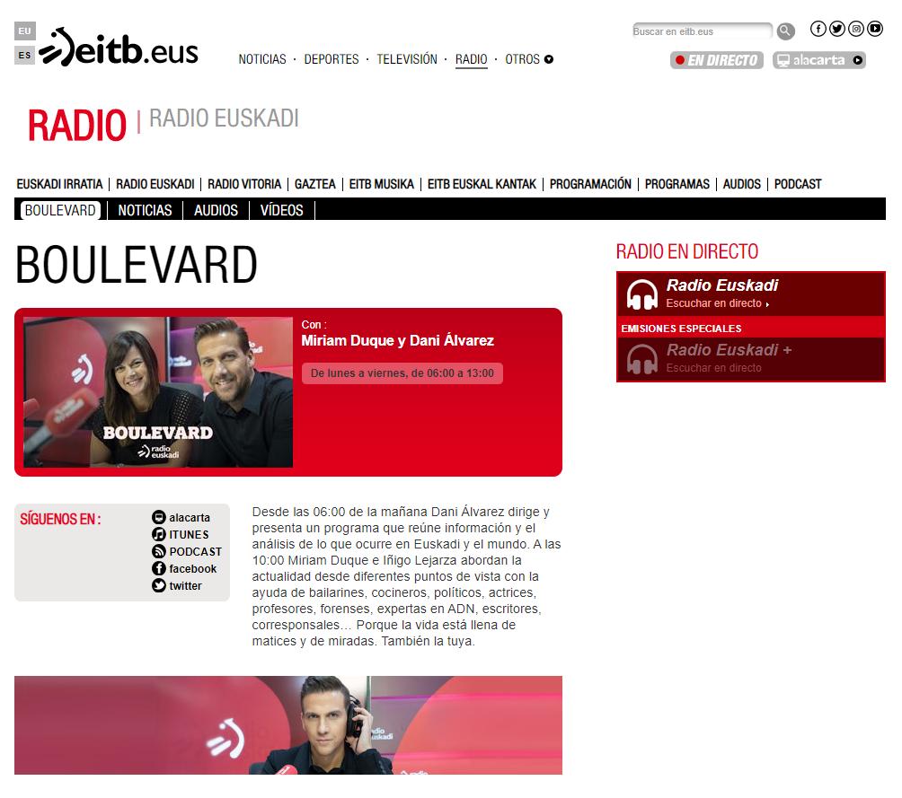 Boulevard Radio Euskadi